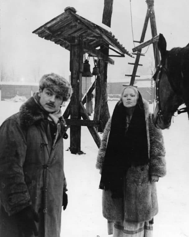 Андрей Тарковский и его жена Ирма Рауш