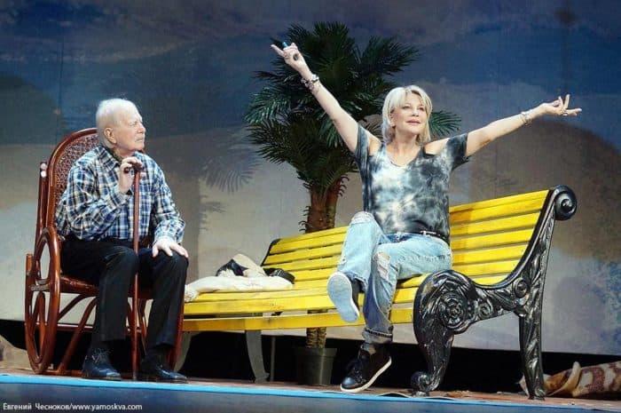 Татьяна Веденеева в театральном спектакле