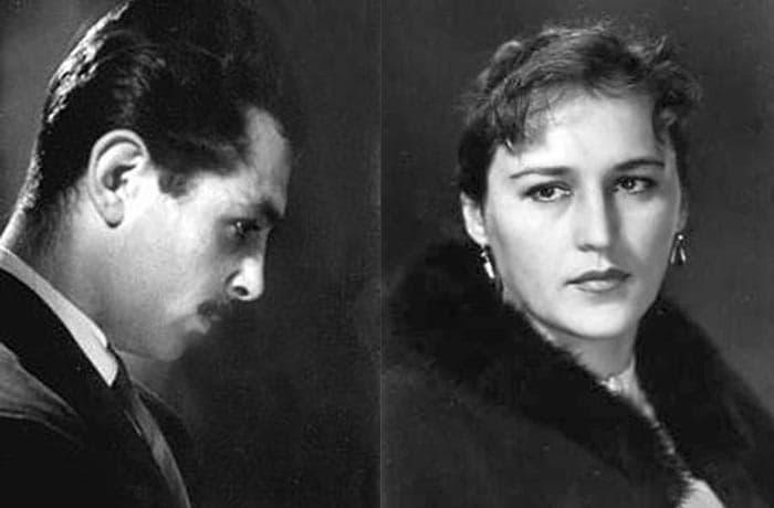 Нонна Мордюкова и Борис Андроникашвили