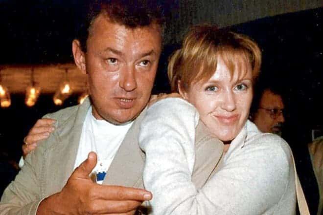 Ирина Розанова с мужем Григорием Беленьким
