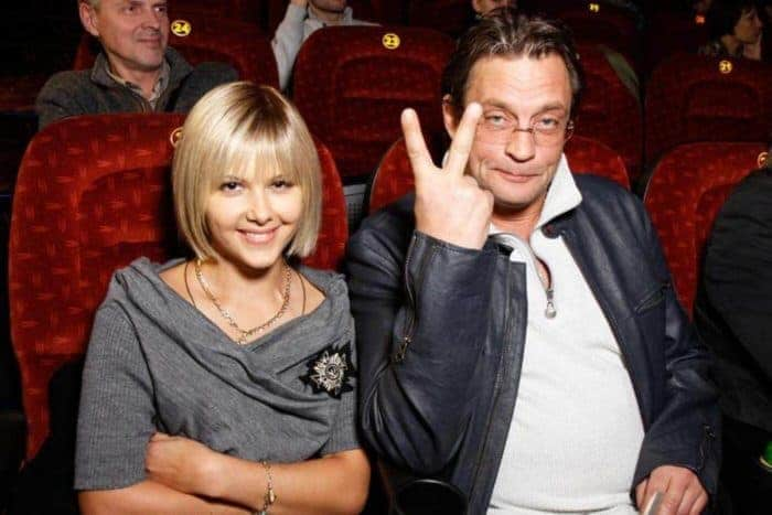 Александр Домогаров и Лариса Черникова