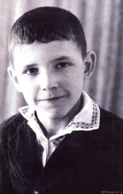 Эммануил Виторган в детстве