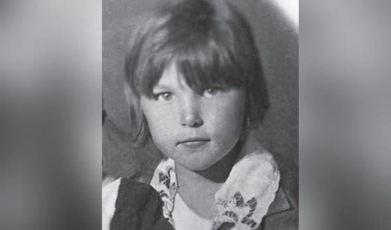 Вера Васильева в детстве