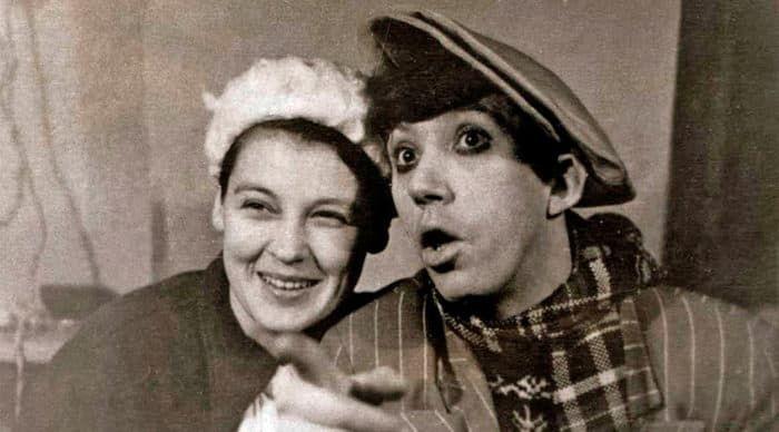 Юрий Никулин с женой Татьяной Покровской