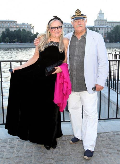 Никита Михалков со второй женой Татьяной