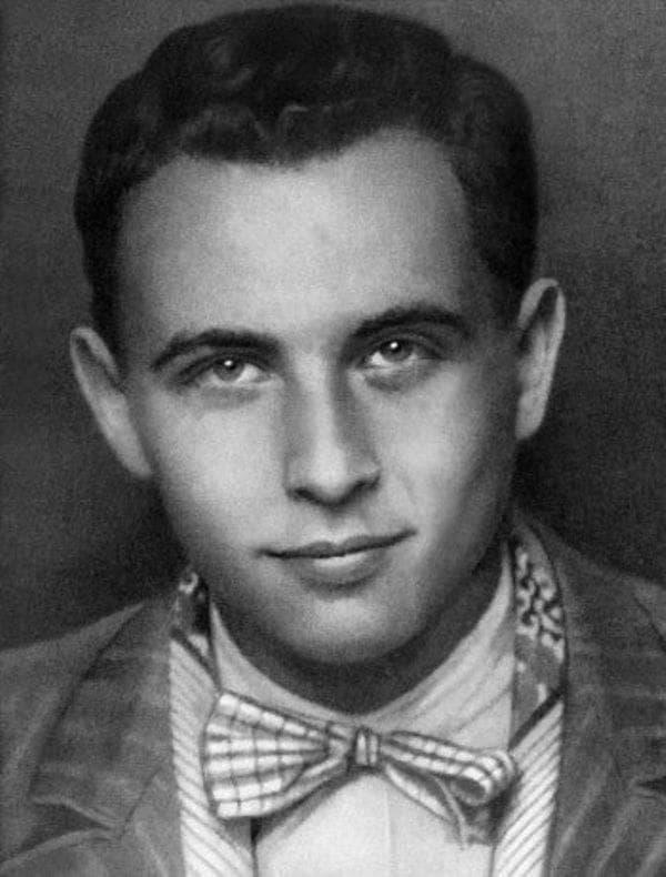 Эльдар Рязанов в молодости