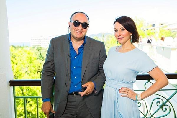 Алика Смехова с Георгием Беджамовым