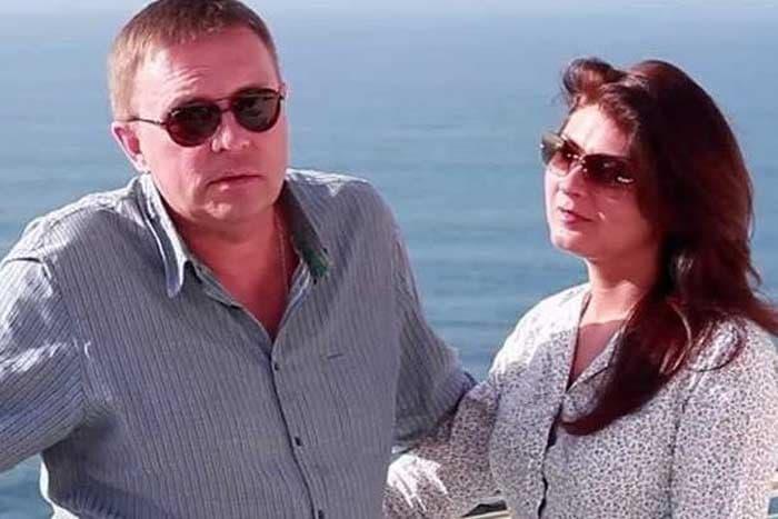 Алексей Нилов и его жена Елена Володина