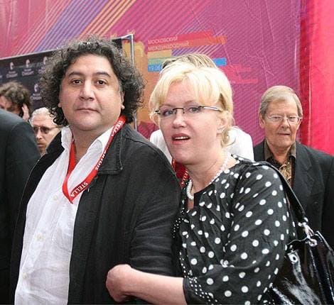 Ирина Розанова и ее третий муж Бахтиер Худойназаров