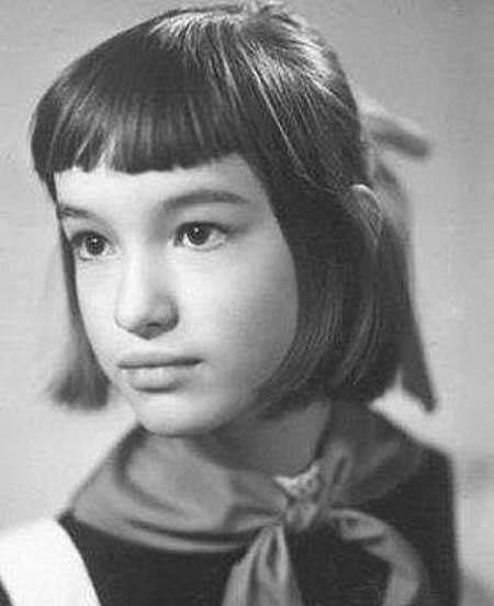 Анна Самохина в детство