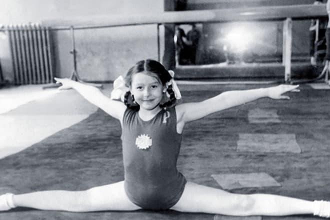 Елена Прудникова в детстве