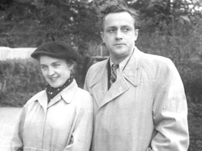 Владислав Стржельчик и его вторая жена Людмила Шувалова