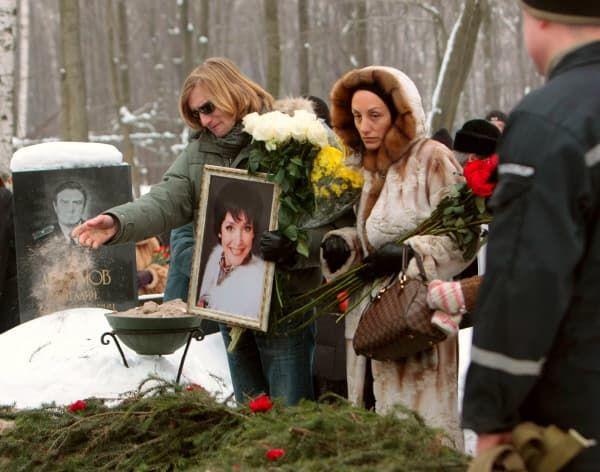 Похороны Анны Самохиной