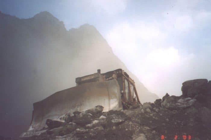 Раскопки Кармадонского ущелья