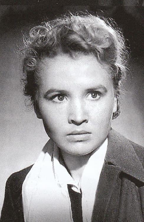 Екатерина Савинова в молодости