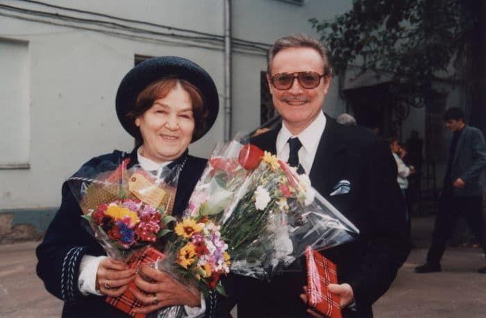 Юрий Соломин и его жена Ольга Соломина