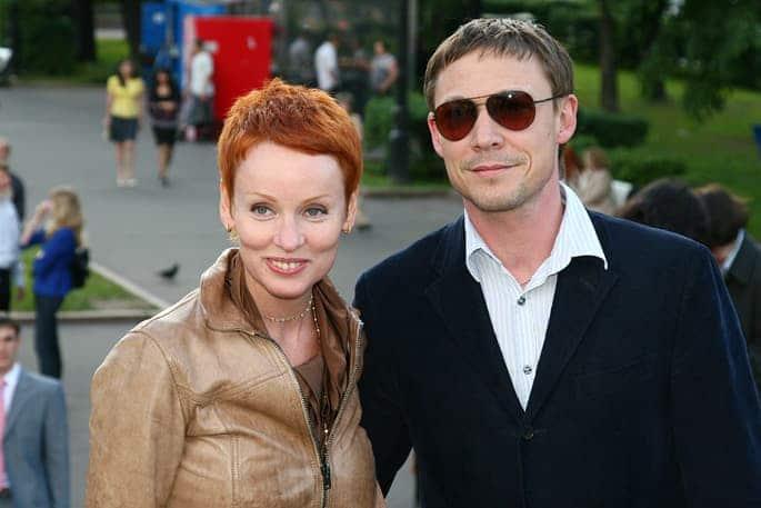 Жанна Эппле и ее первый муж Алексей Бакай