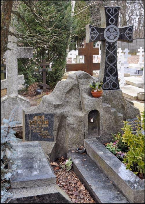 Могила Андрея Тарковского