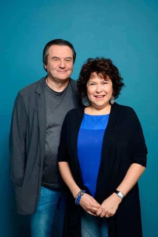 Алексей Учитель и его жена Кира Саксаганская