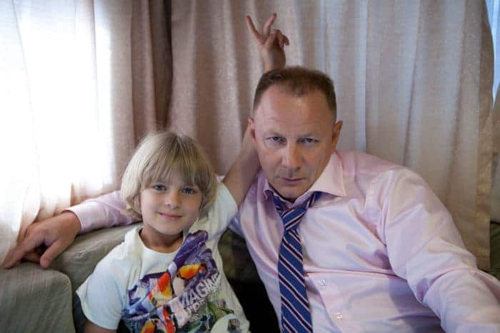 Дмитрий Шевченко с сыном