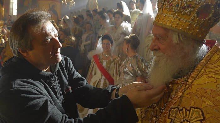 """Алексей Учитель на съемках """"Матильды"""""""