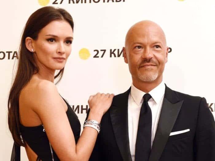 Федор Бондарчук вместе со второй женой Паулиной Андреевой