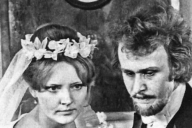 Марианна Вертинская и ее перый муж Илья Былинкин