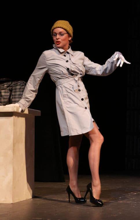 Жанна Эппле в театре