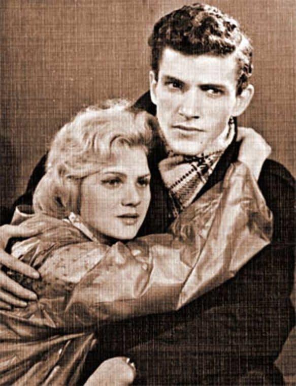 Эммануил Виторган с первой женой Тамарой Румянцевой