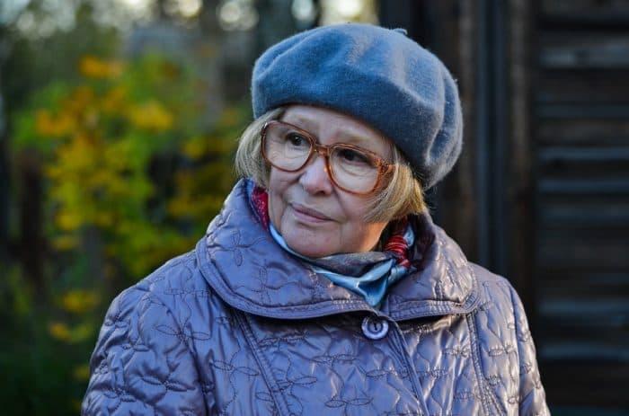 Марина Неелова в 2018 году