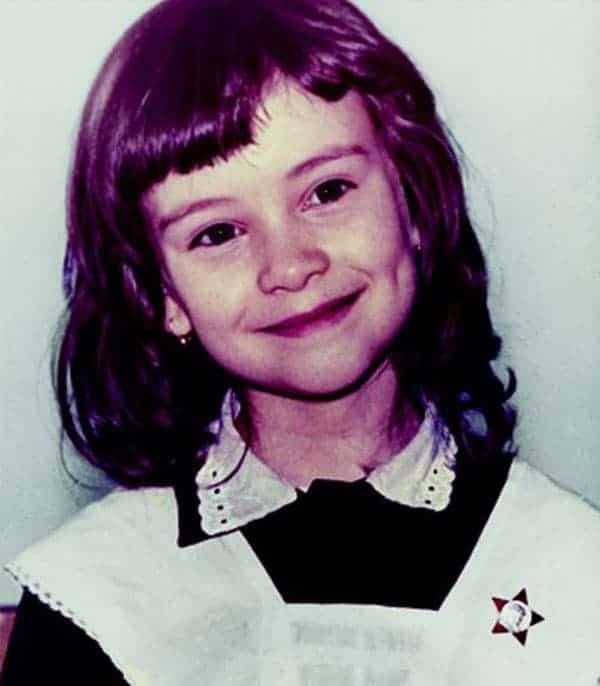 Нонна Гришаева в детстве
