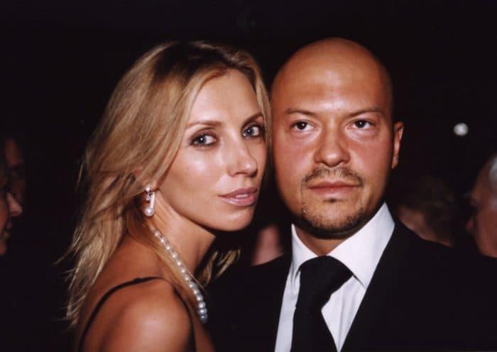 Федор Бондарчук и его жена Светлана Рудская