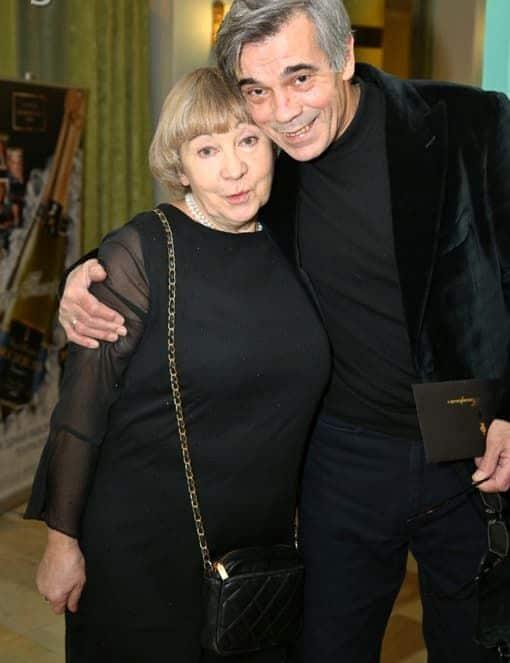 Александр Коршунов с женой