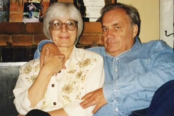 Эльдар Рязанов и его жена Эмма Абайдуллина
