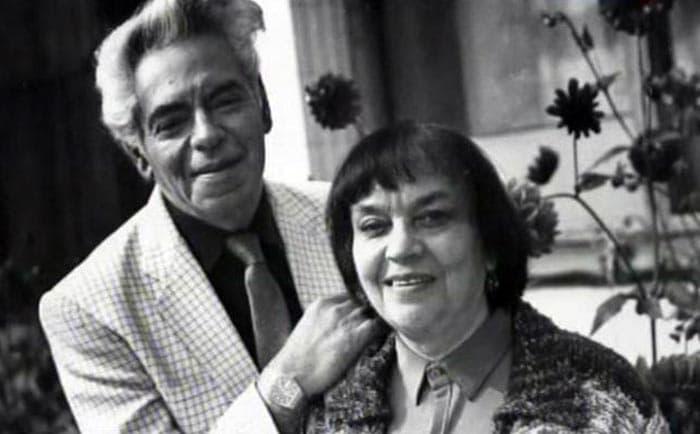 Аркадий Райкин и его жена Руфь Иоффе