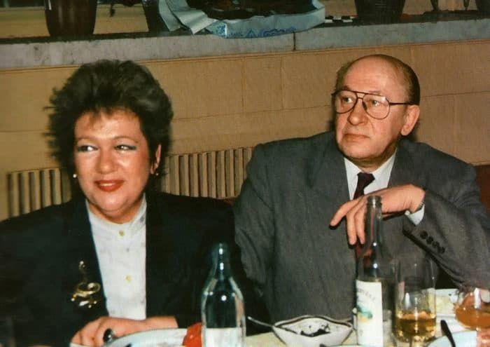 Галина Волчек и ее первый муж Евгений Евстигнеев