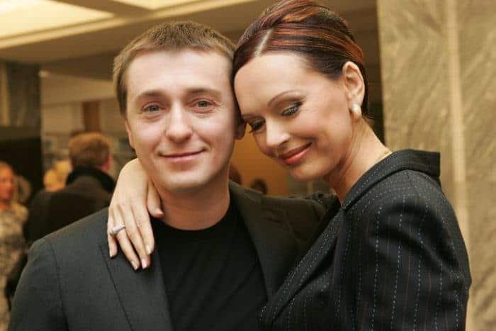 Сергей Безруков с его бывшей женой Ириной Безруковой