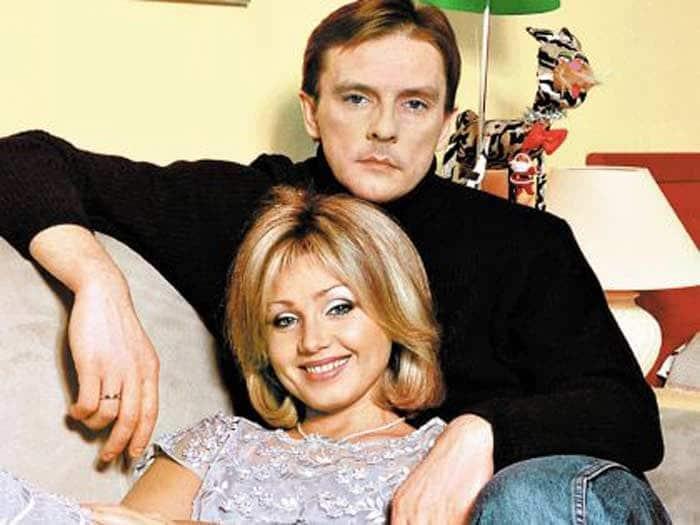Алексей Нилов с женой Ириной Климовой