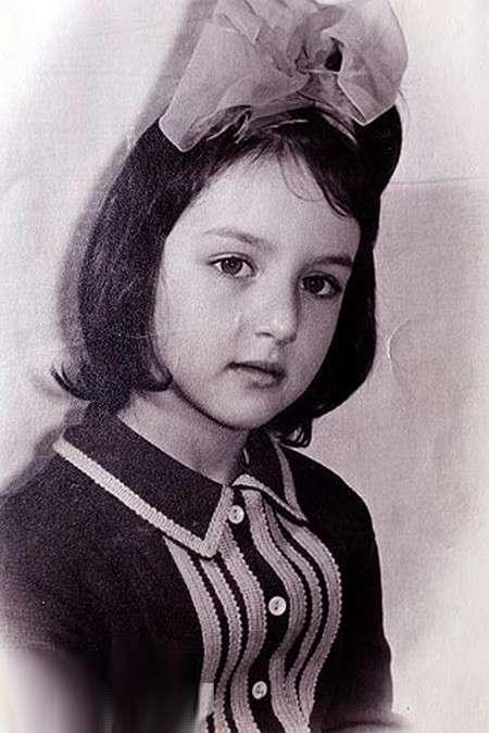 Алика Смехова в детстве