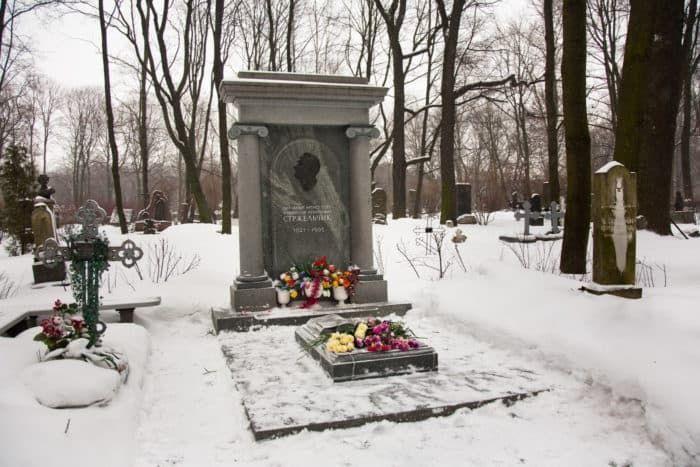 Могила Владислава Стржельчика