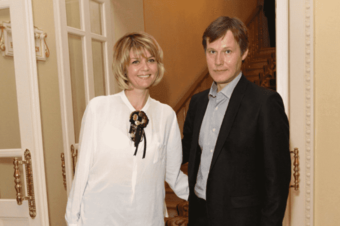 Юлия Меньшова и ее муж Игорь Гордин