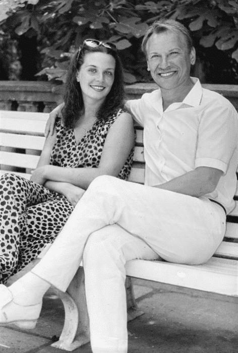 Сергей Шакуров и его первая жена Наталья Оленева