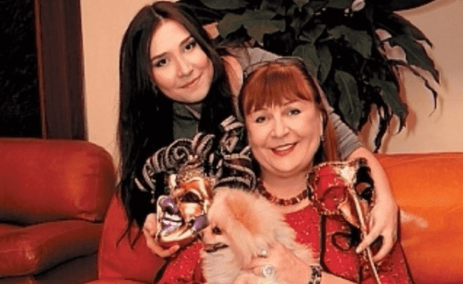 Татьяна Кравченко с дочерью