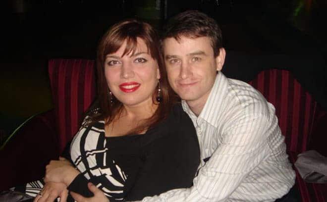 Екатерина Скулкина и ее муж Денис Васильев