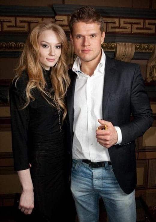 Светлана Ходченкова и ее муж Владимир Яглыч