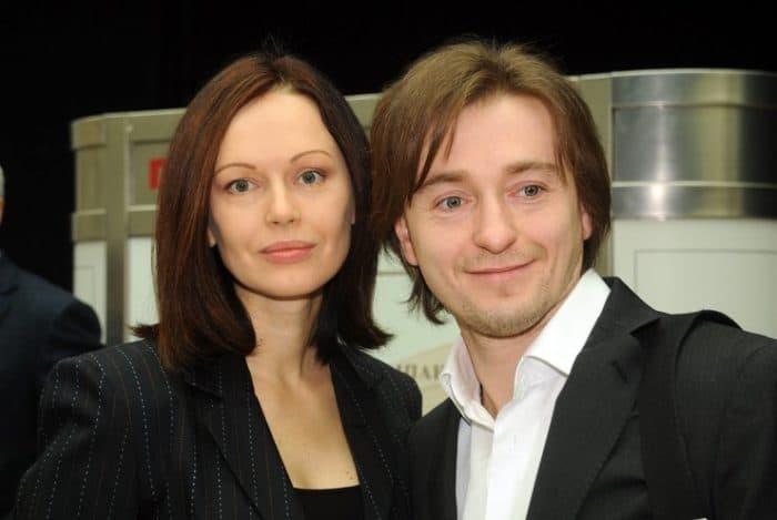 Ирина Безрукова с мужем Сергеем Безруковым