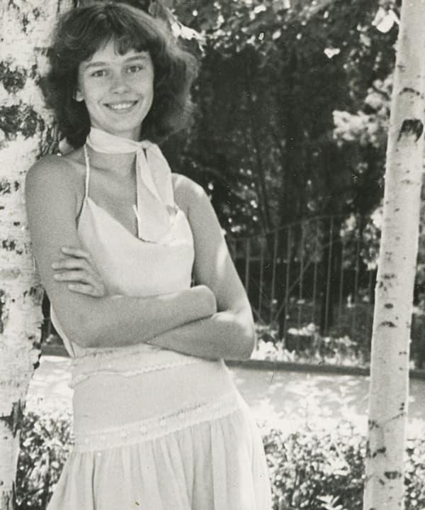 Ирина Безрукова в юности