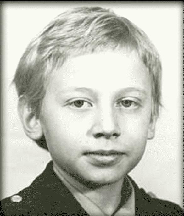 Александр Половцев в детстве