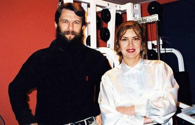 Вера Сотникова с мужем Юрием Никольским