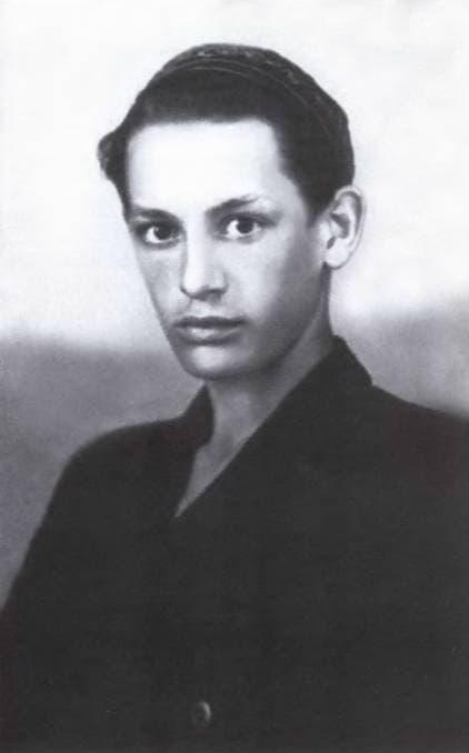 Василий Лановой в молодости
